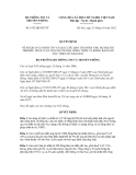 Quyết định số 1952/QĐ-BTTTT