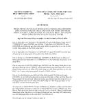 Quyết định số 2385/QĐ-BNN-HTQT