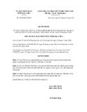 Quyết định số 2360/QĐ-UBND