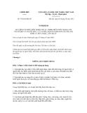 Nghị định số 79/2012/NĐ-CP