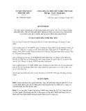 Quyết định số 1700/QĐ-UBND