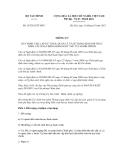 Thông tư số 167/2012/TT-BTC