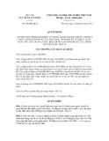 Quyết định số 246/QĐ-QLD