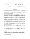 Pháp lệnh số 06/VBHN-VPQH