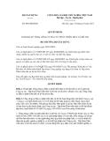 Quyết định số 896/QĐ-BXD