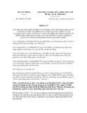Thông tư số 168/2012/TT-BTC