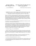 Thông báo số 5217/TB-BNN-VP