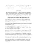 Quyết định số 2422/QĐ-BNN-XD