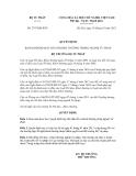 Quyết định số 2797/QĐ-BTP
