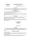 Quyết định số 535/QĐ-UBND