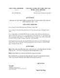 Quyết định số 1599/QĐ-TTg