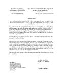 Thông báo số 4990/TB-BNN-VP