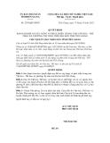 Quyết định số 2507/QĐ-UBND
