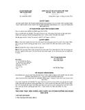Quyết định số 2565/QĐ-UBND