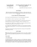Quyết định số 2723/QĐ-UBND