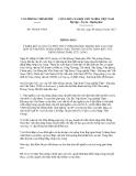 Thông báo số 346/TB-VPCP