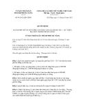 Quyết định số 46/2012/QĐ-UBND