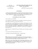 Quyết định số 245/QĐ-QLD