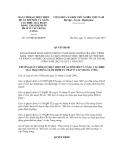 Quyết định số 116/QĐ-BCĐGĐTP