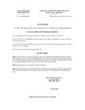 Quyết định số 2501/QĐ-UBND