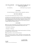 Quyết định số 1468/QĐ-TTg