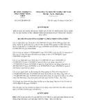 Quyết định số 2641/QĐ-BNN-XD