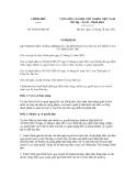 Nghị quyết số 84/2012/NĐ-CP