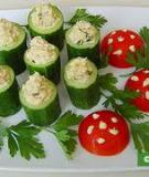 Tuna cucumber