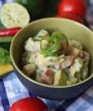 Xua tan cái nóng với món salad bơ xoài rực rỡ