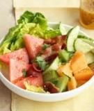 Salad dưa hấu