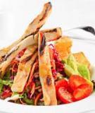 Salad gà nướng - bơ tươi