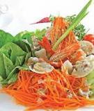 Salad hải sản mùa hè