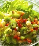 Salad kiwi - vừa mát vừa bổ