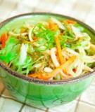 Salad mì rong biển kiểu Nhật