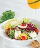 Salad phô mai tươi