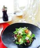 Salad rau củ nướng xốt quế tây