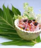 Salad sakê kiểu ý