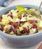 Salad táo giòn giòn chua ngọt