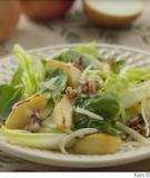 Salad táo nướng với phô mai