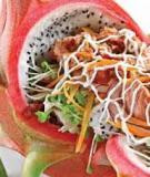 Salad thanh long bò hầm