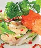 Salad tôm hùm Châu Âu