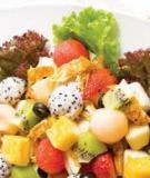 Salad trái cây gà xốt Ý