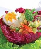 Salad trứng đậu
