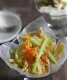 Salad váng đậu lạ miệng