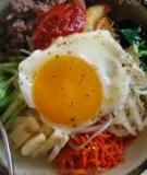Bibimbap - Cơm trộn kiểu Hàn