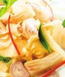 Cá trộn măng chua