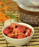 Chua ngọt giòn ngon món dưa củ cải đỏ