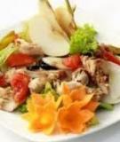Món ăn lạ - Lê trộn thịt gà