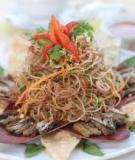 Gỏi lươn bắp chuối
