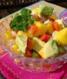 Salad bơ-xoài